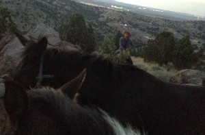 A recent twilight ride in the Oquirrh Mountains