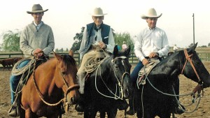 Billy Askew, Bill Dorrance, and Joe Wolter