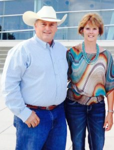 Terry and Julia Moore, owners of 5 Star Equine Products