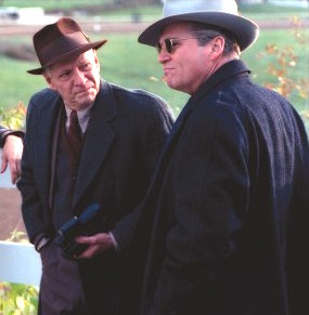 Chris Cooper and Jeff Bridges in the movie Seabiscuit